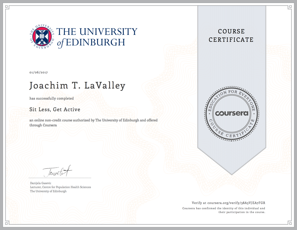 Coursera Certificates Joachim Lavalley